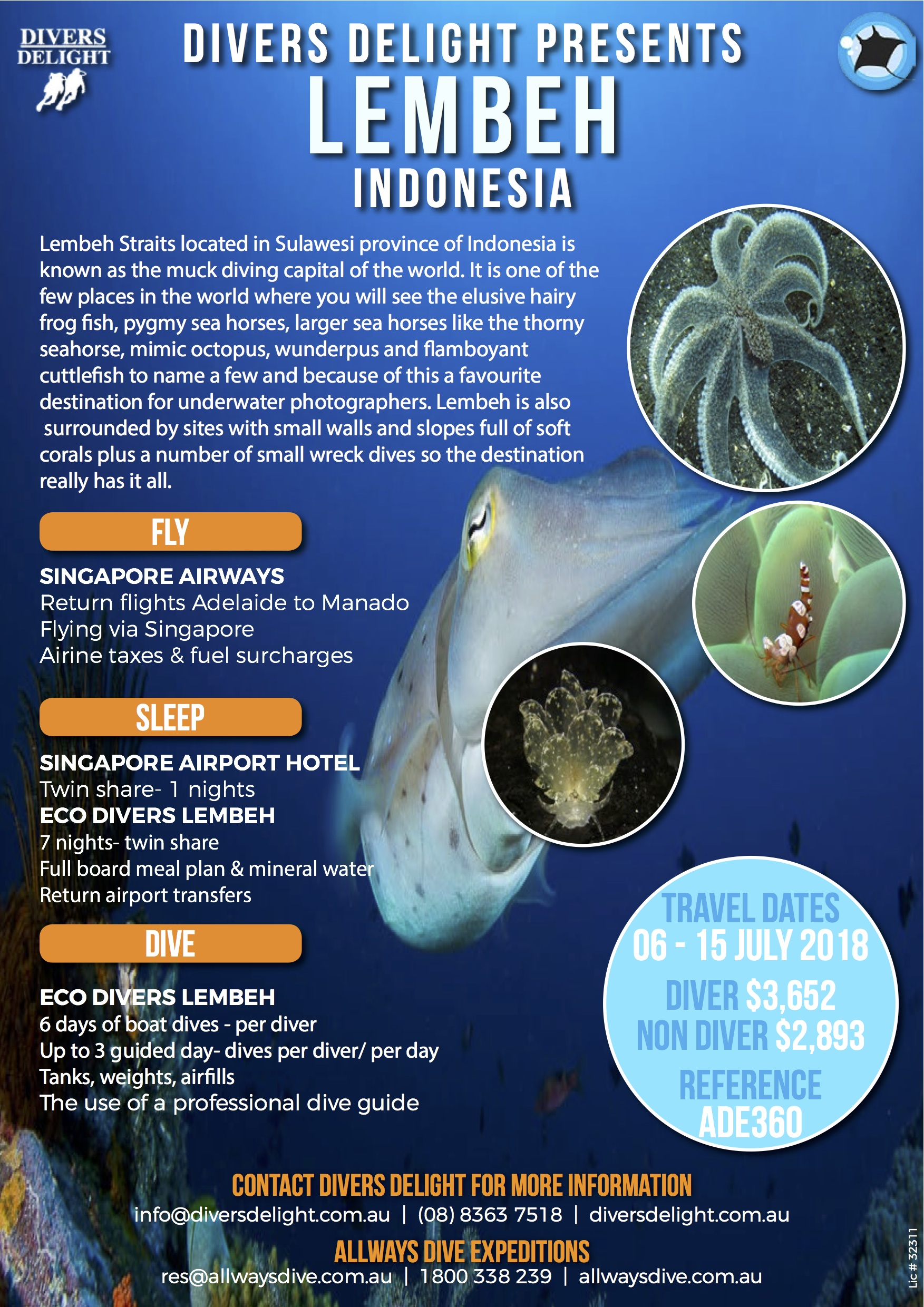 Lembeh indonesia